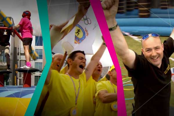 Celebrating 2012's Summer of Sport with a team building video