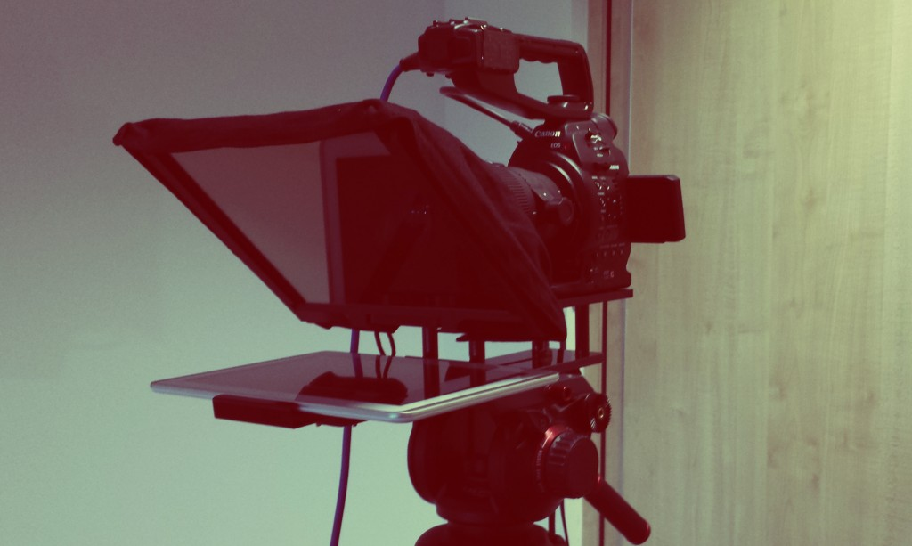 Using a Teleprompter for your video production